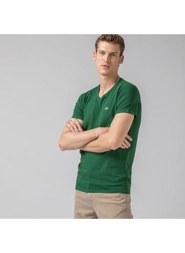 Lacoste Erkek  Tişört TH0999.132 Yeşil